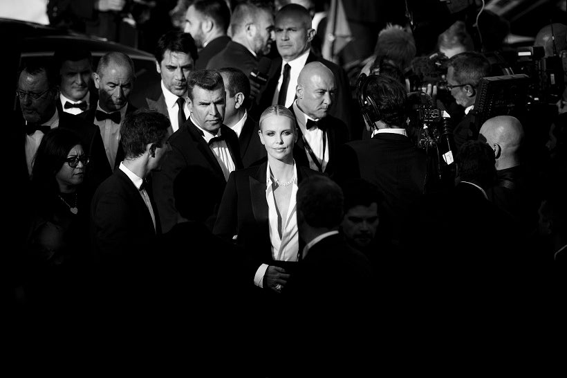 Charlize Theron, 71e Festival de Cannes, 2016. (© Tristan Fewings/Getty Images)