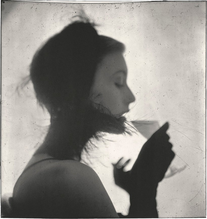 Irving Penn American, Plainfield, New Jersey 1917–2009 New York Girl Drinking (Mary Jane Russell), New York 1949, printed May 2000 Gelatin silver print (© Irving Penn/The Met)